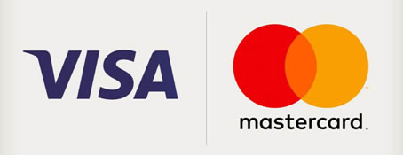 Acceptable Methods of Payment: VISA & MasterCard