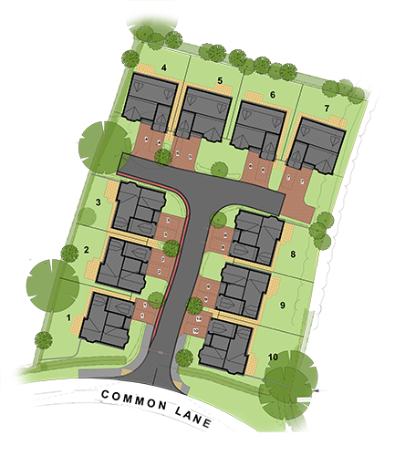 The Oaks Site Map