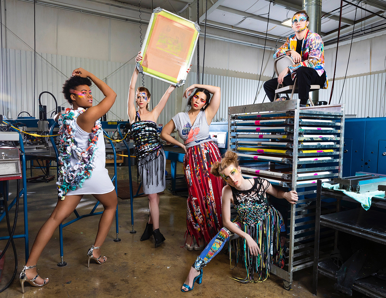 Making Screen Printing High Fashion