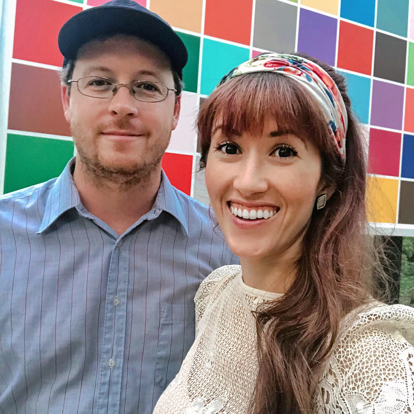 Nick Bahash and Alyssa Bird at Crystal Bridges Art Museum