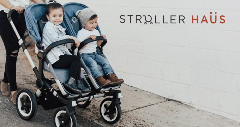 Advert for Stroller Haus