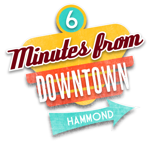 6 Minutes from Downtown Hammond