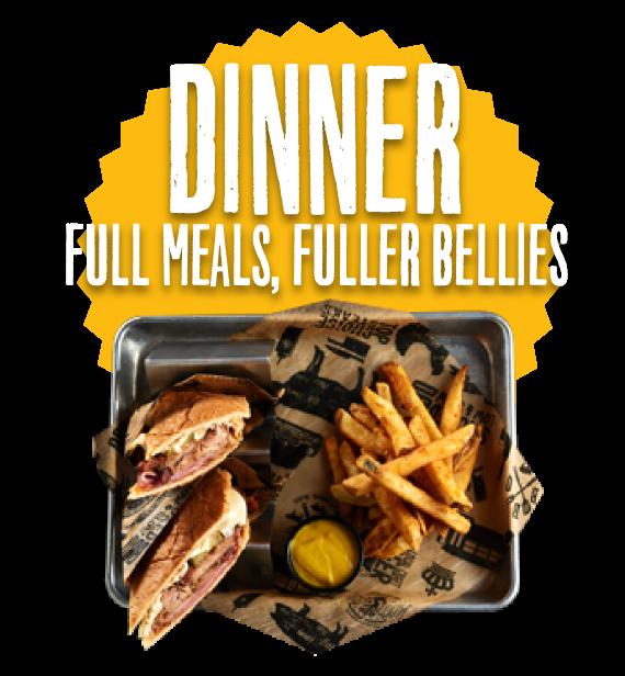 Dinner. Full Melas, Fuller Bellies.