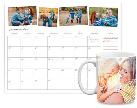 Photo Gifts & Calendars