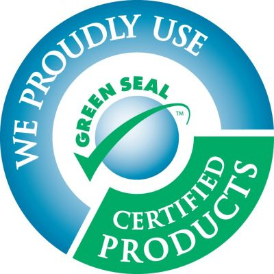 At GreenWorks, we proudly use Green Seal certified products