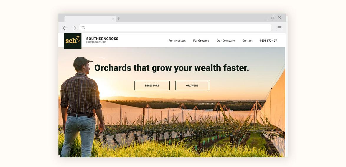 Website for SCH by Resonance