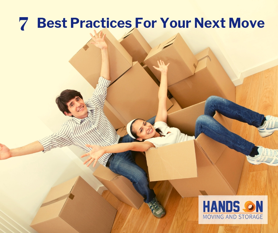 7 Best Practices to Prepare for your Next Move - Local movers in CT