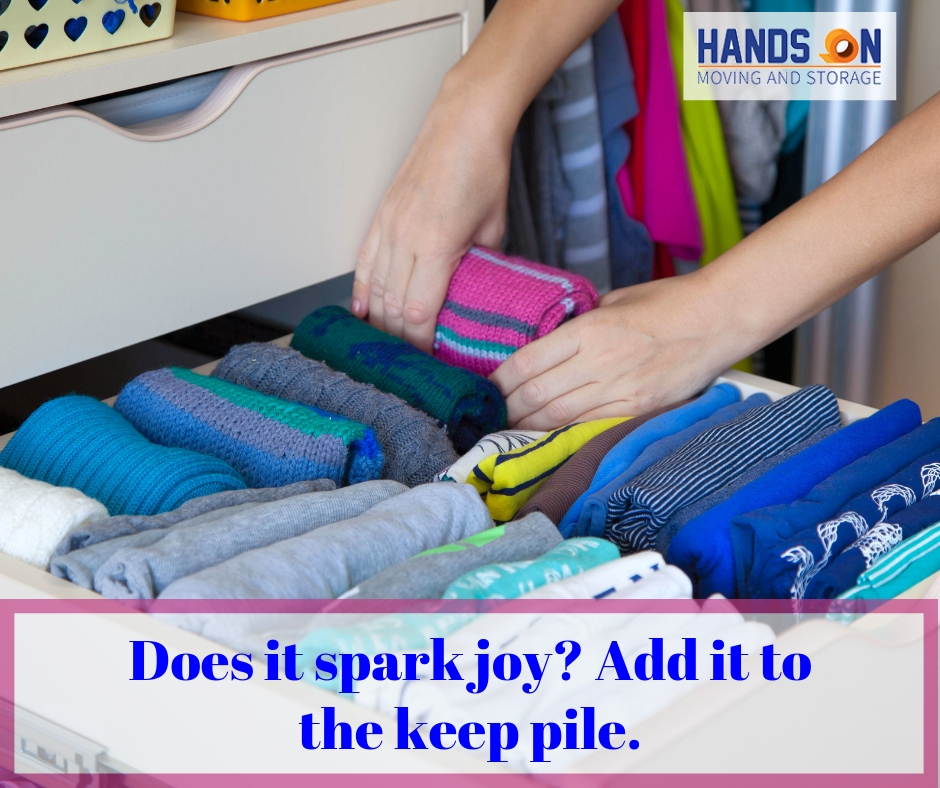 How to Organize Your Life Like Marie Kondo - local movers in CT