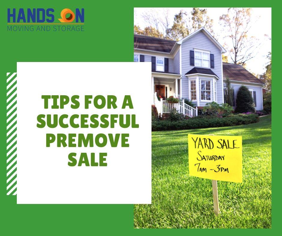 How to Prepare for a Pre-Move Sale