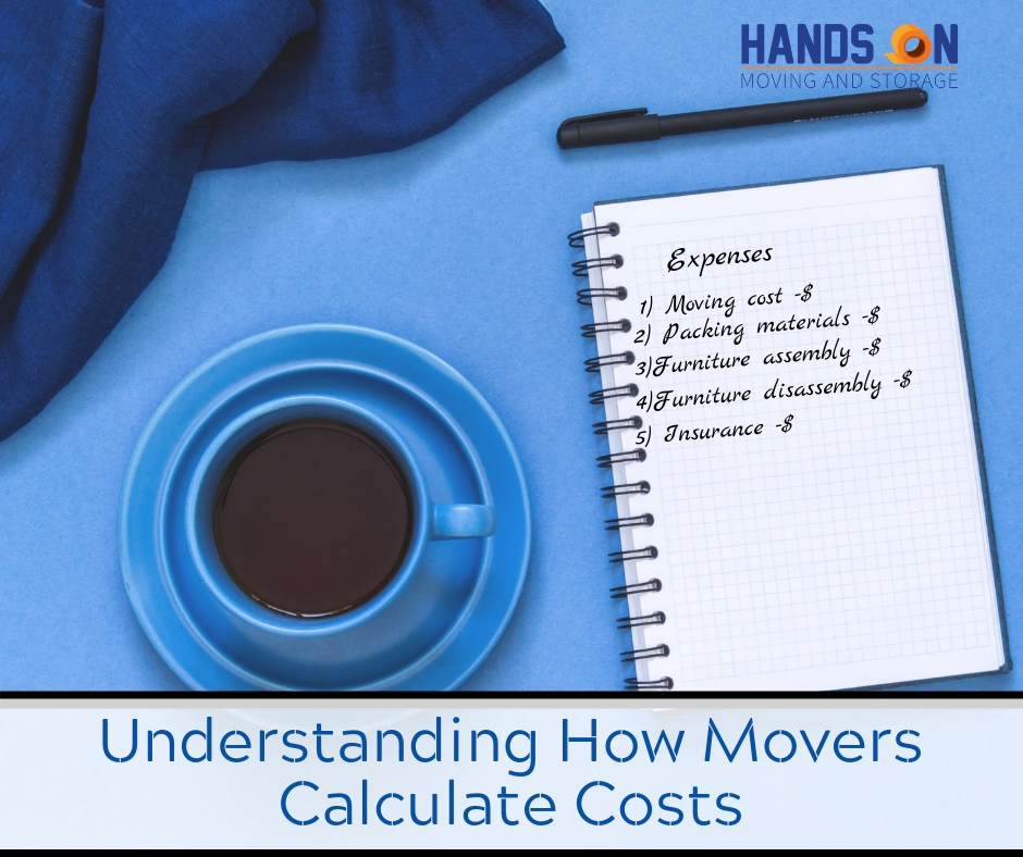 A High Level Guide to Understanding How Movers Calculate Costs