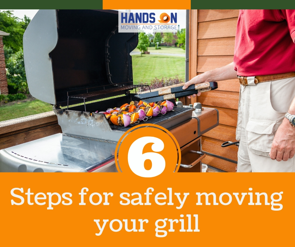 6 Steps for Safely Moving Your Grill