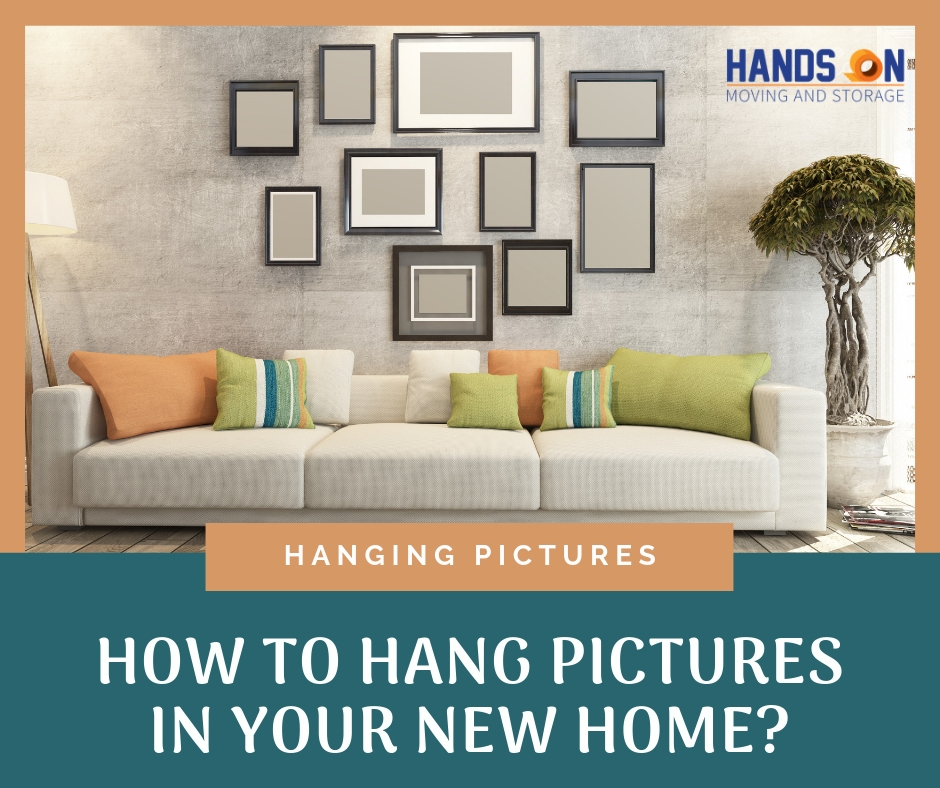 How to Hang Pictures in Your New Home