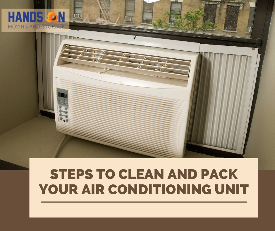 Simple Steps for Cleaning and Packing Your Air Conditioning Unit