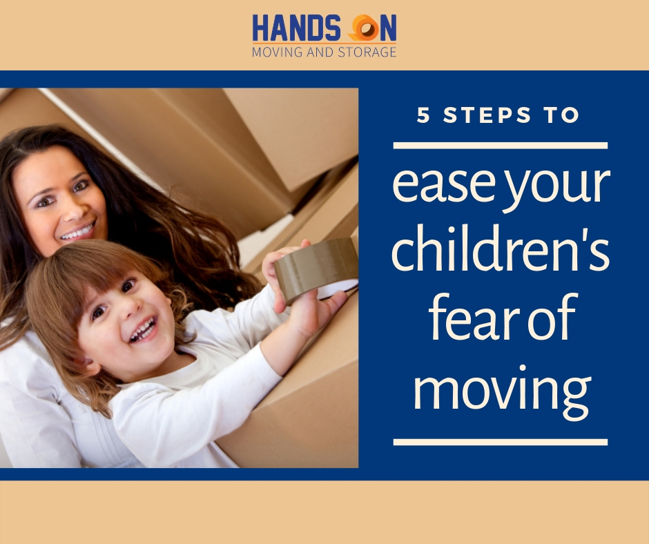 How to Ease Your Children's Fear of Moving: 5 Steps to Take