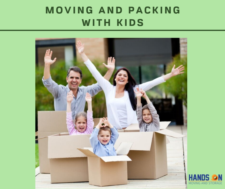 Moving and Packing with kids