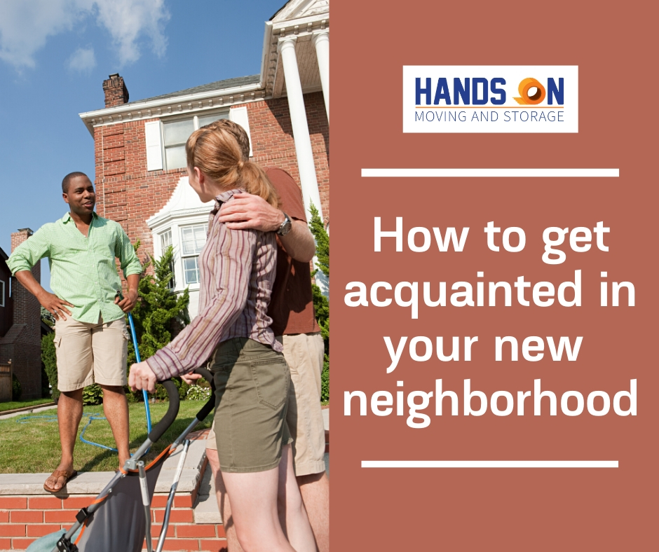 How to get acquainted with your neighborhood