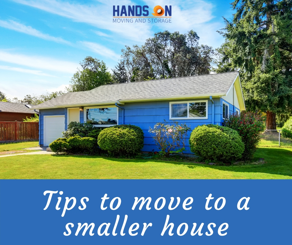 Tips to Move to a Smaller House - New Haven moving company