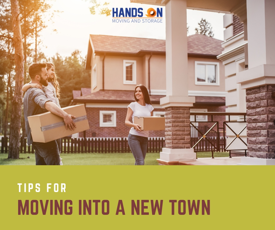 Tips for Moving into a New Town - Moving company in CT