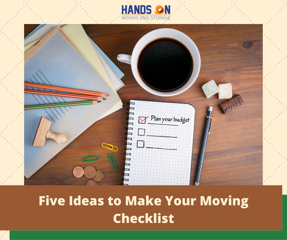 Five Ideas to Make Your Moving Checklist