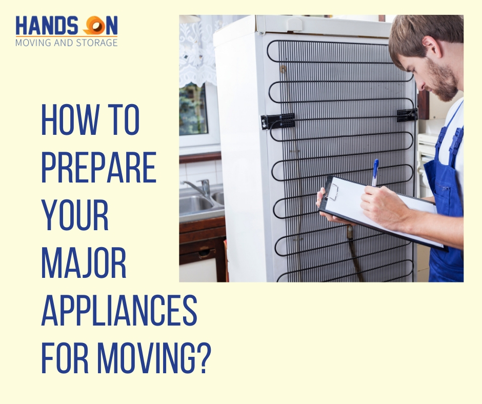 How to Prepare Your Major Appliances for Moving