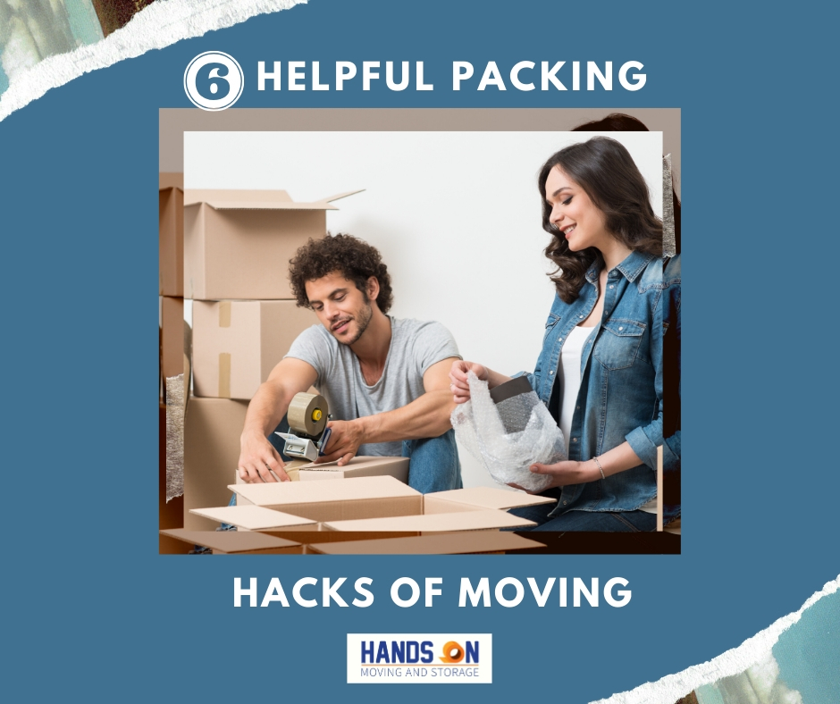 6 Incredibly Helpful Packing Hacks for Moving