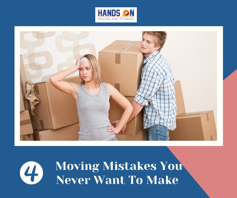 4 Moving Mistakes You Never Want To Make