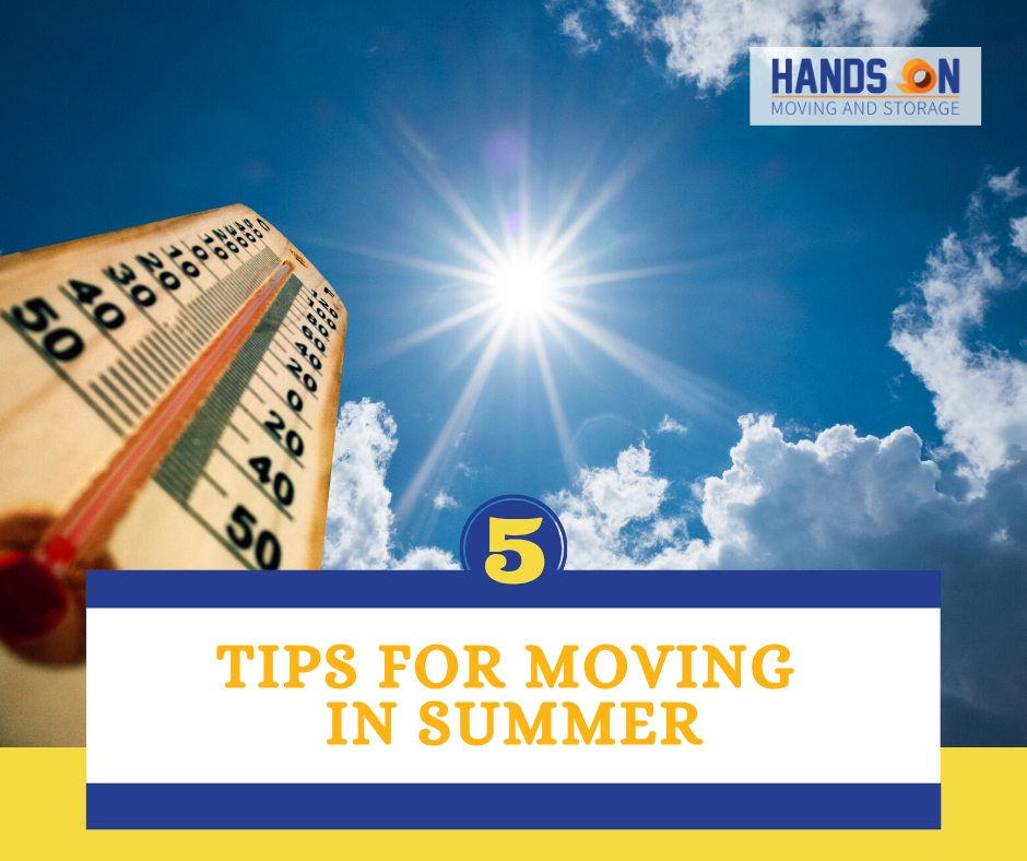 5 Tips for Moving in the Summer