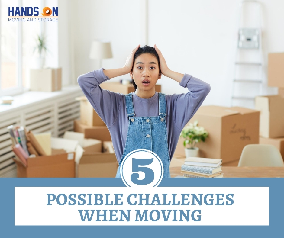 5 Challenges When Moving Out of Your House