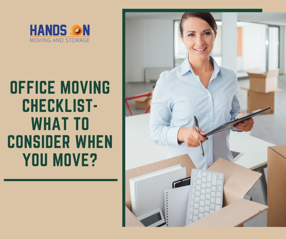 Office Move – What to consider before you move