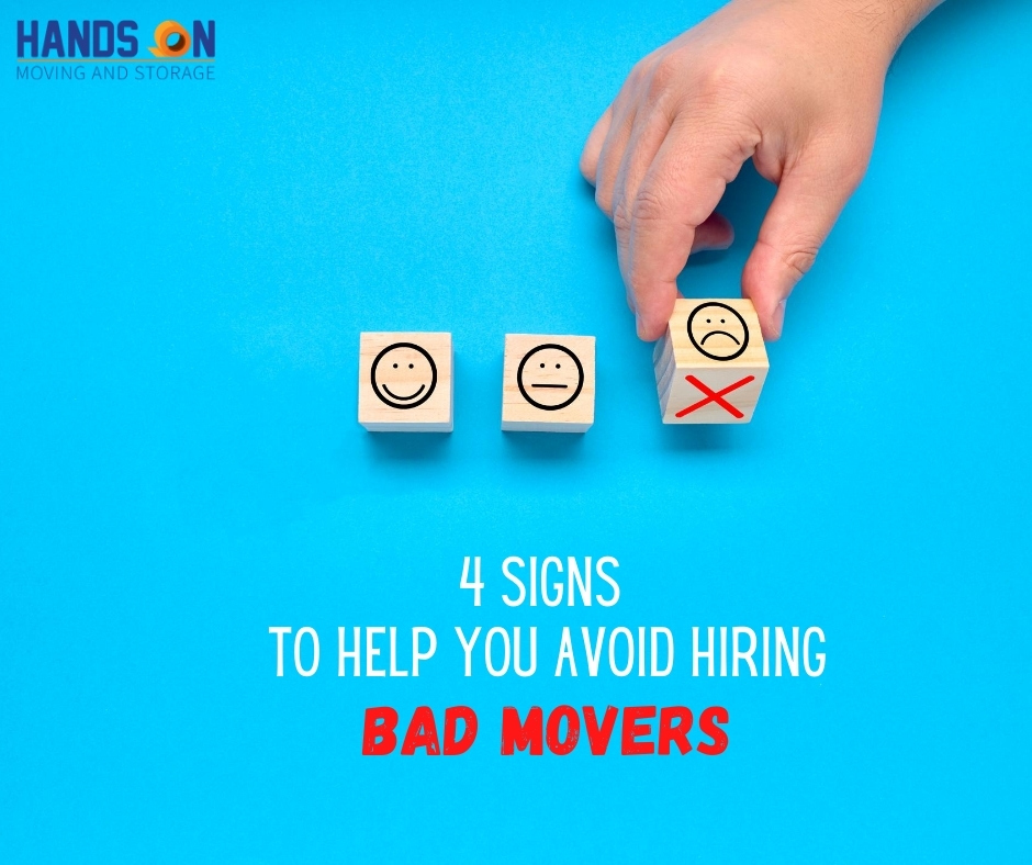 4 Signs You're Dealing With Bad Movers