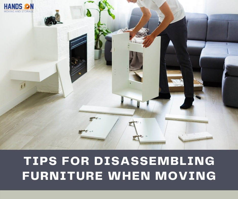 Tips for Disassembling Furniture When Moving