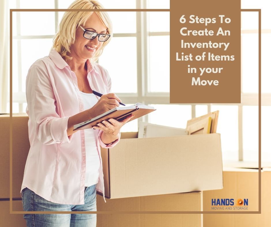 6 Steps to Create a Inventory List to Track What You're Moving