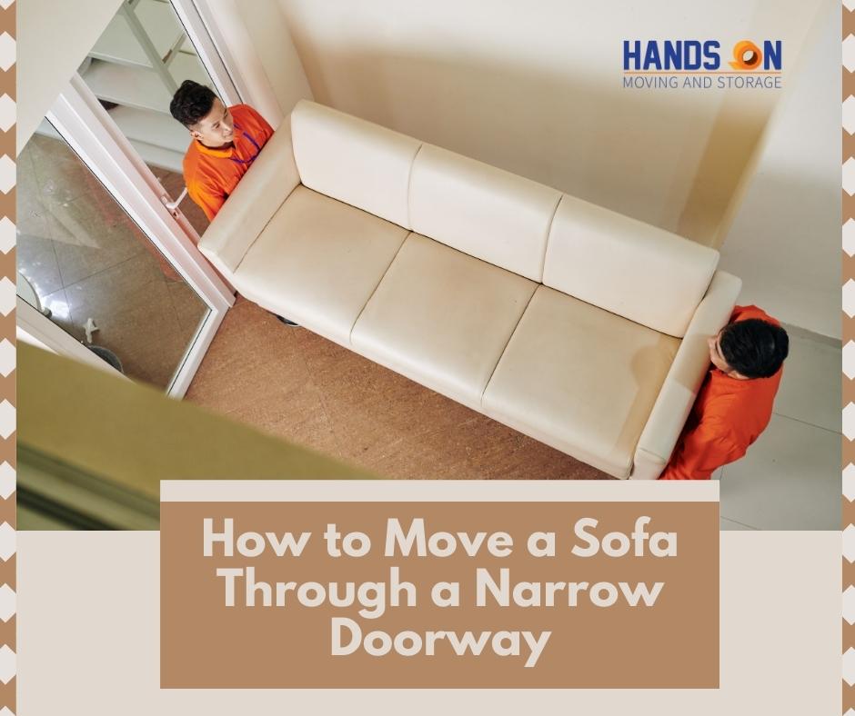 How to Move a Sofa Through a Narrow Doorway