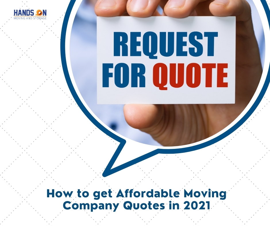 How to get Affordable Moving Company Quotes in 2021