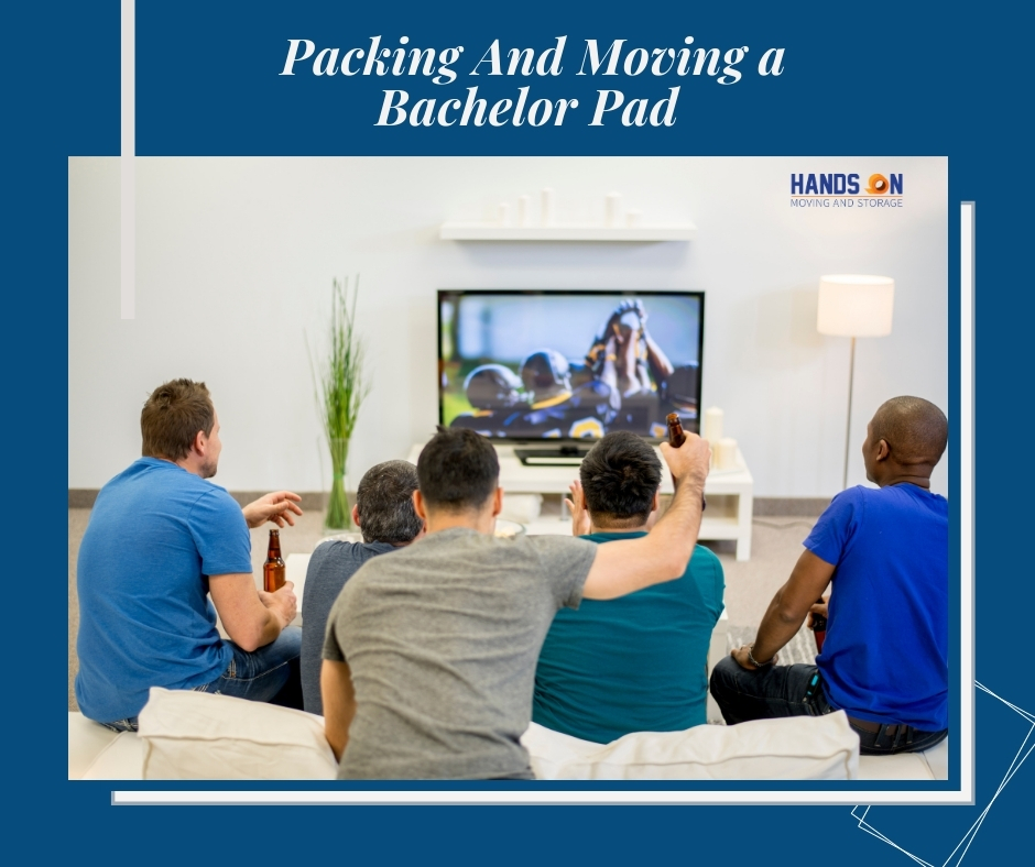 Packing and Moving a Bachelor Pad