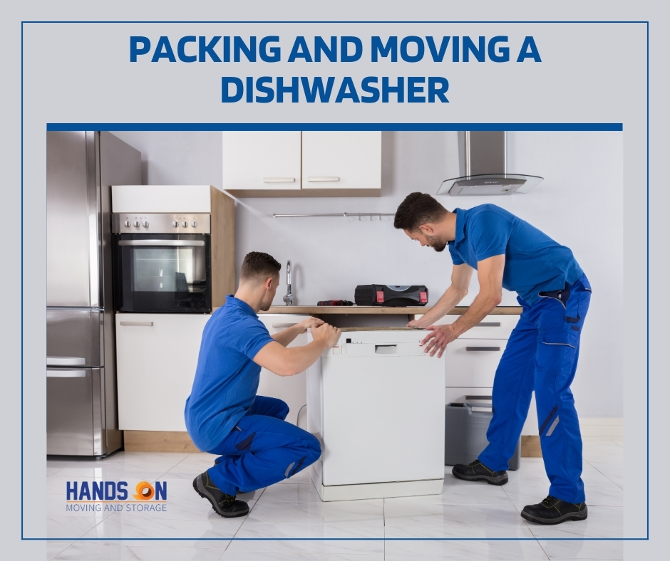 Packing and Moving a Dishwasher