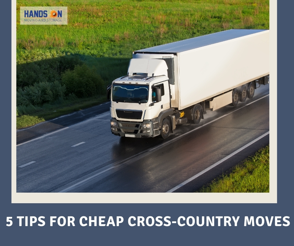 5 Tips for Cheap Cross-Country Moves
