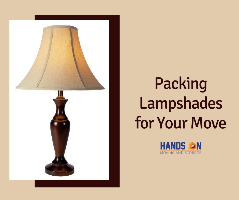 Packing Lampshades for Your Move