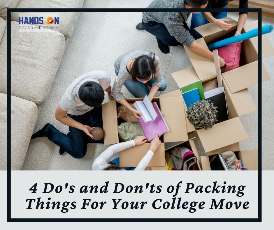4 Do's and Don't's of Packing Things For Your College Move