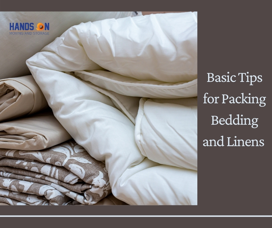 Basic Tips for Packing Bedding and Linens for a Relocation