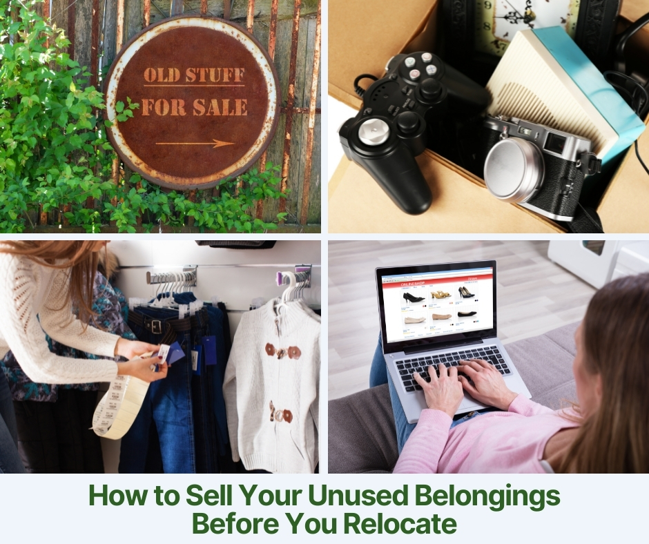 How to Sell Your Belongings Before You Relocate