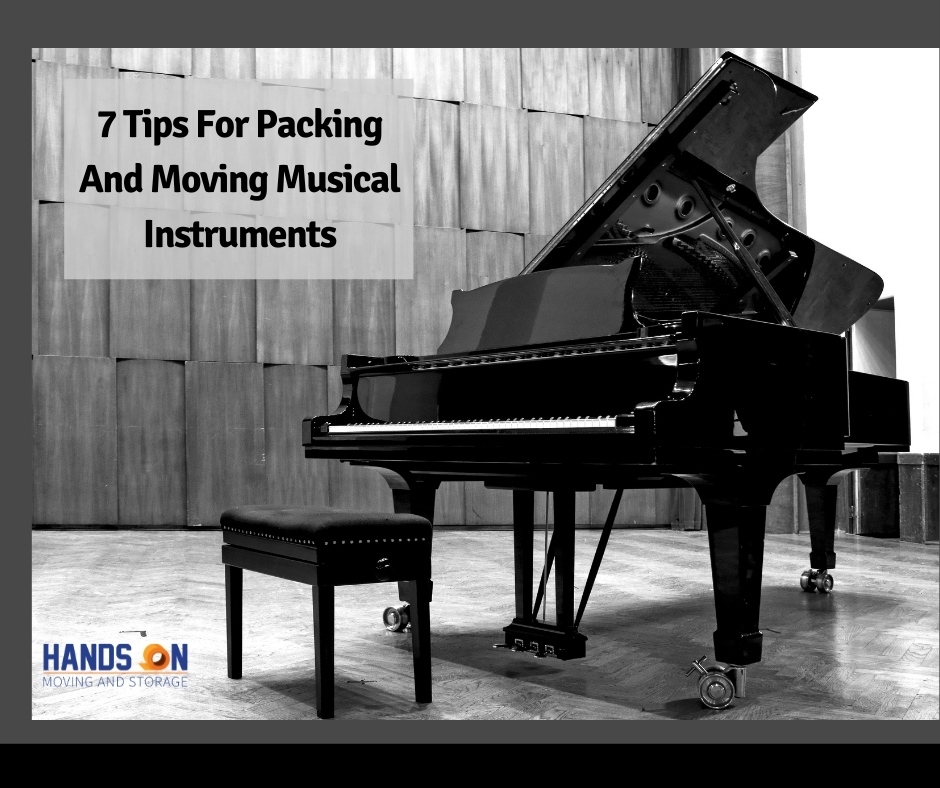 7 Tips For Packing & Moving Musical Instruments