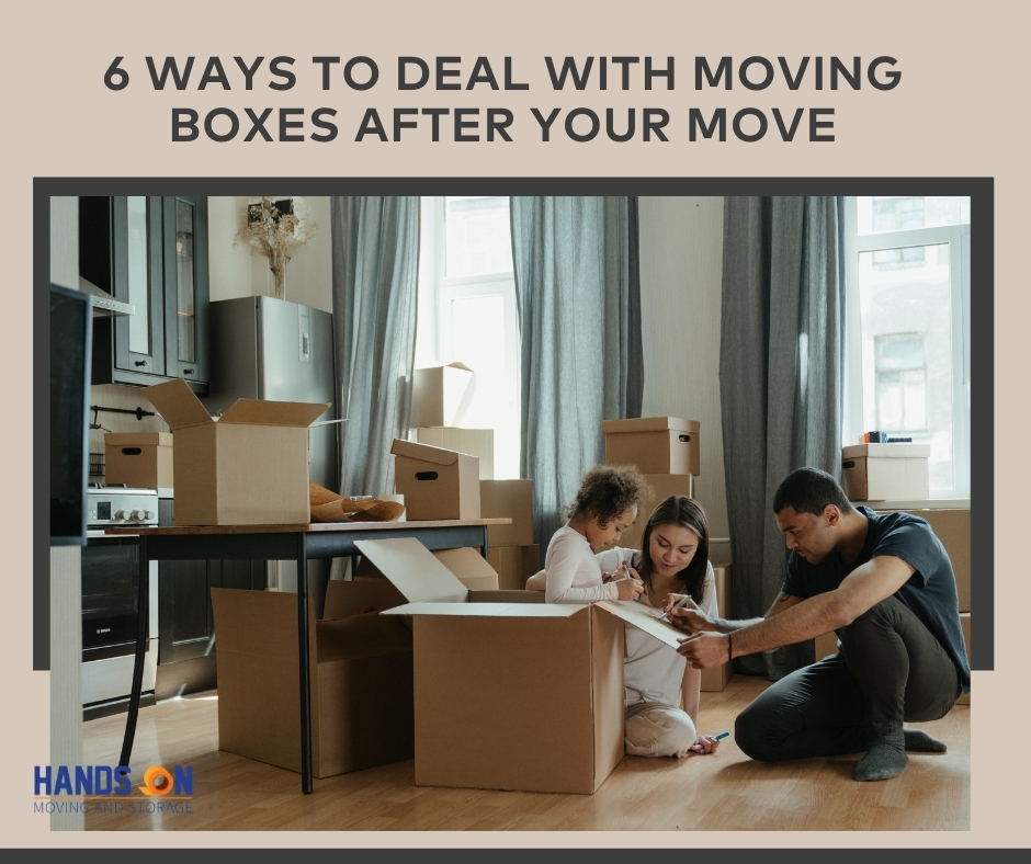 6 Ways To Deal With Moving Boxes After Your Move