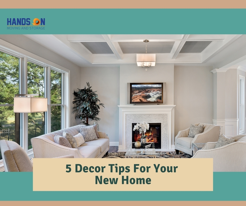 5 Decor Tips For Your New Home
