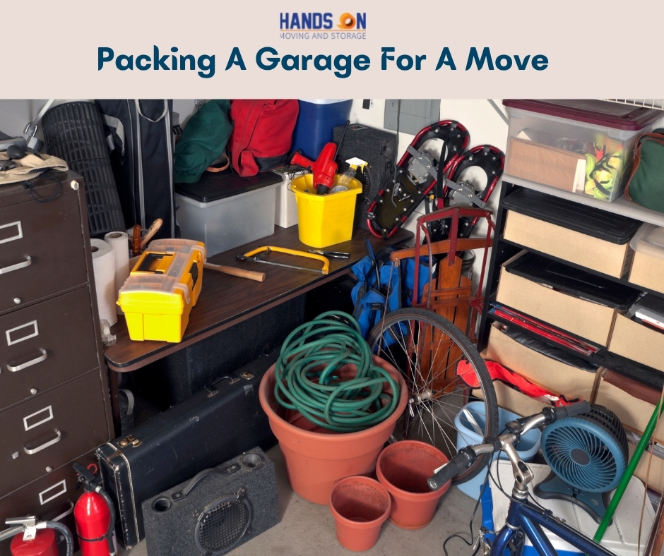 Packing A Garage For A Move
