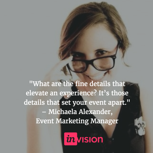 InVision Alexander quote on event experience