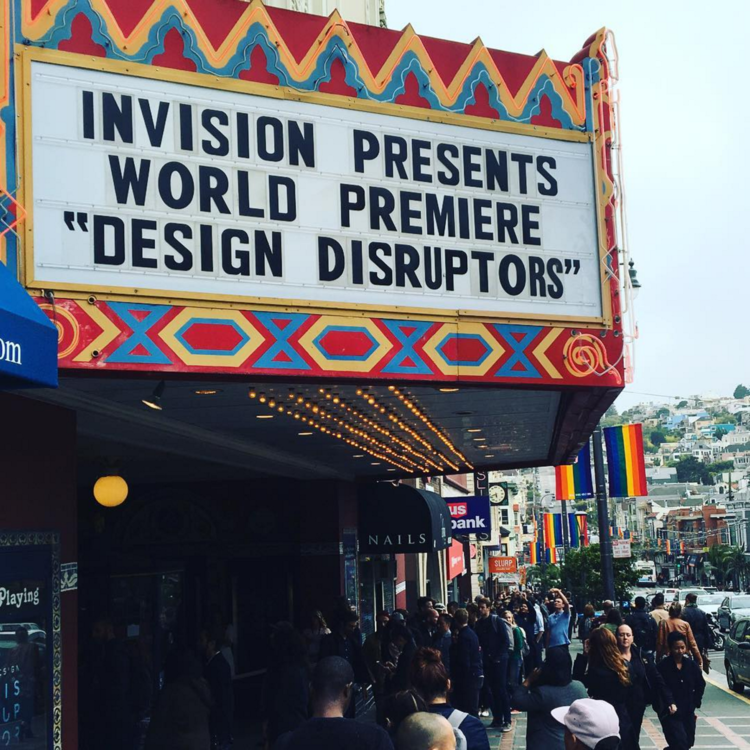 "InVision presents world premiere ""Design Disruptors"""