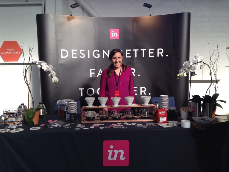 InVision's artisanal coffee station
