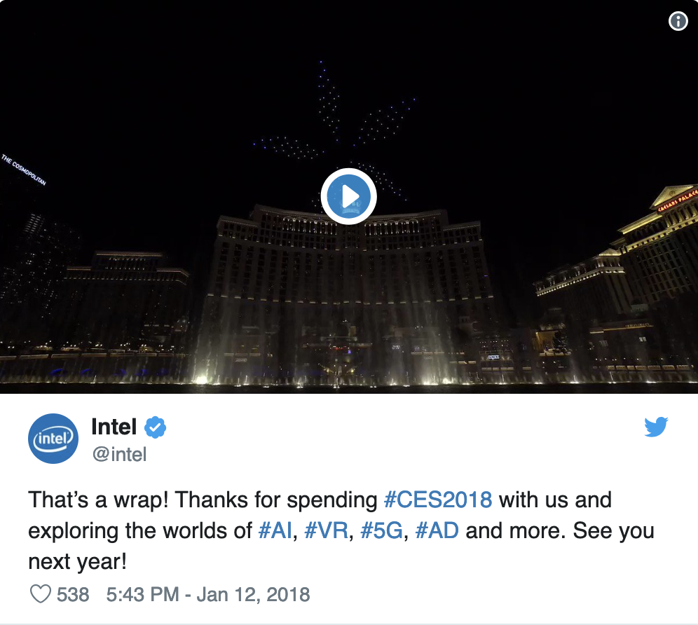 Intel at CES 2018
