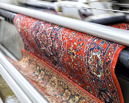 Oriental Rug Washing with Steam Commander